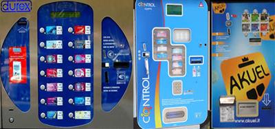 Distributori automatici di profilattici